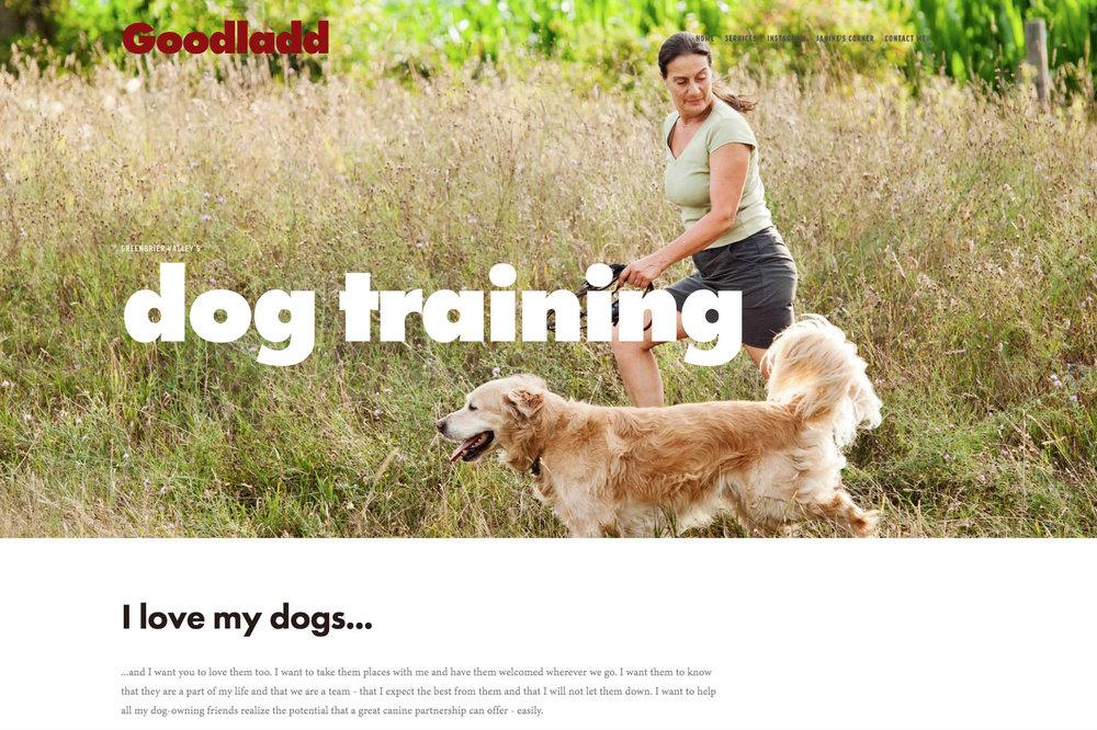 GOODLADD DOG TRAINING