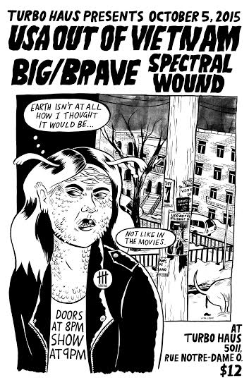 USA out of Vietnam+Big/Brave+Spectral Wound