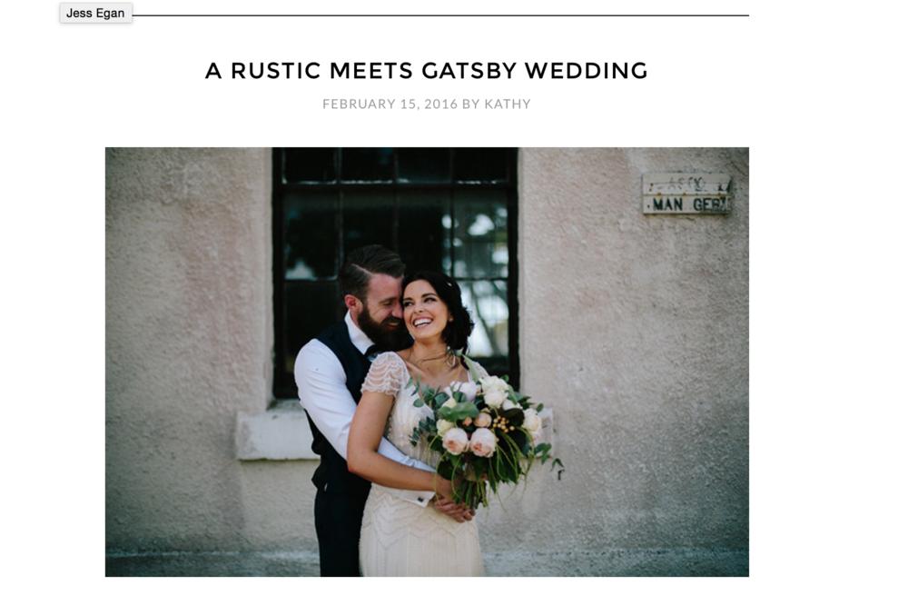 Tom + Kate / Wedding Playbook