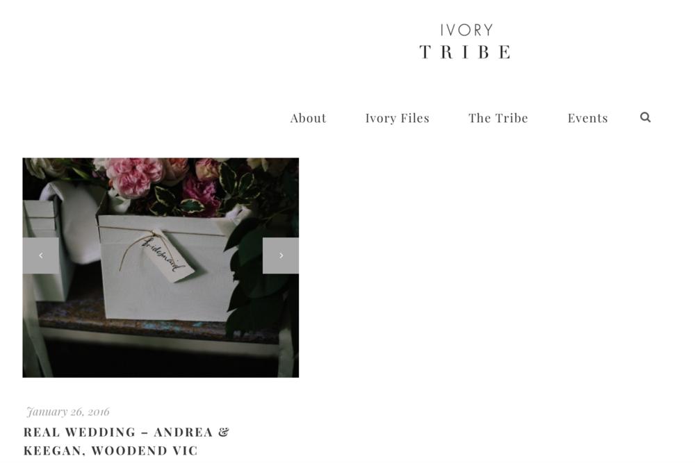 Keegan + Andrea / Ivory Tribe