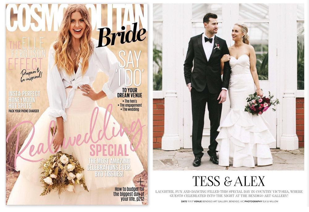 Alex & Tess / Cosmo Bride Winter 2018