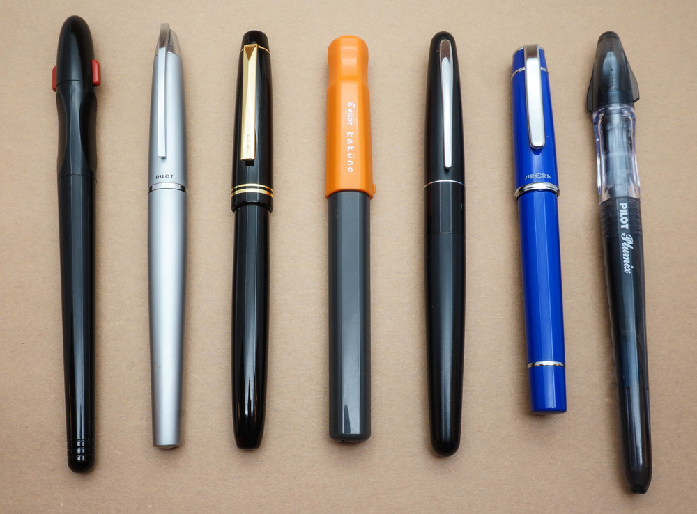 The pens in question (his picture, obviously)