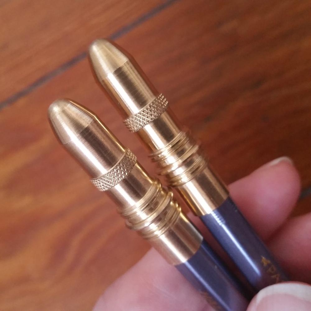 Brass nubs/tips