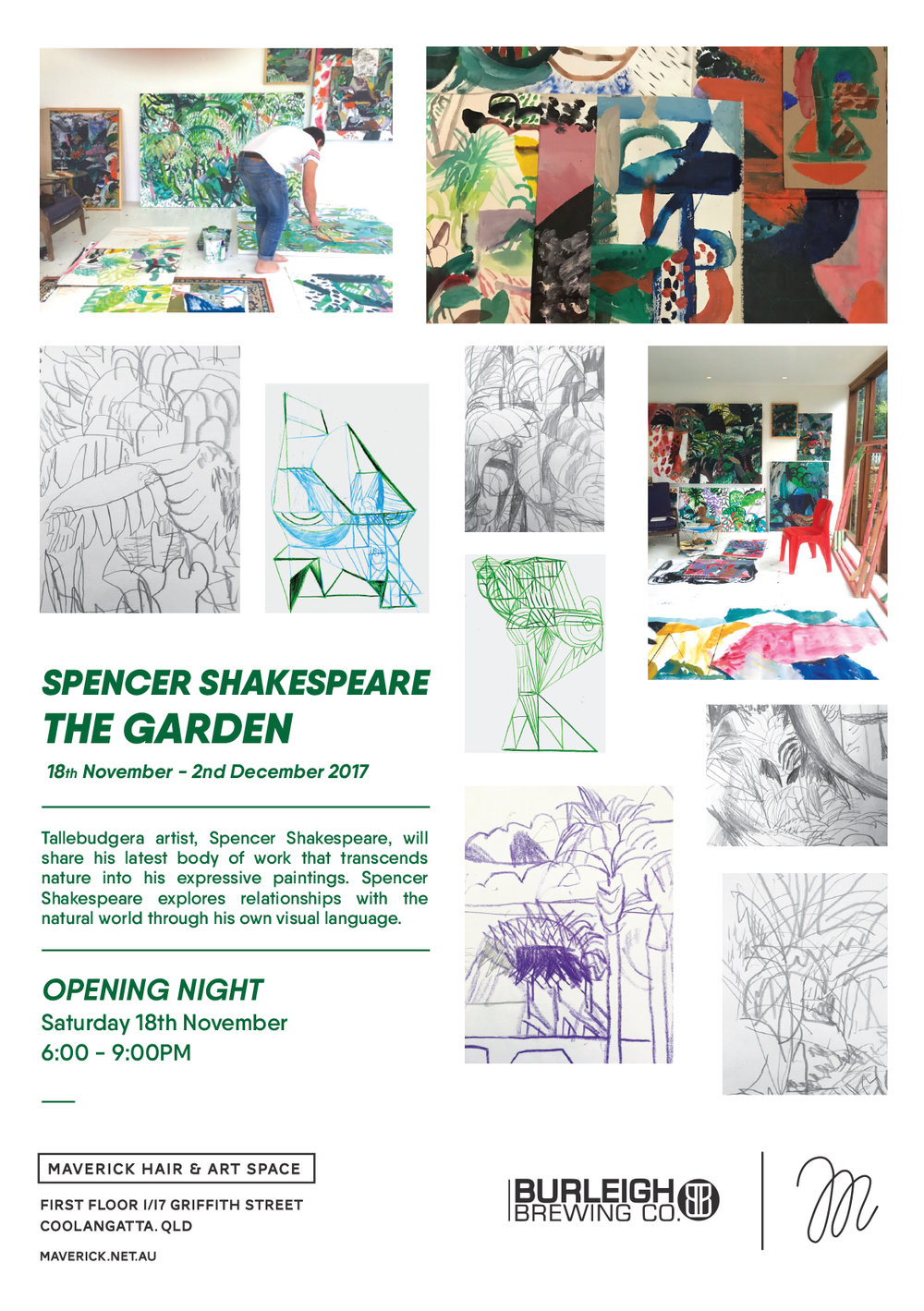 spencer-shakespeare-exhibition-flyer