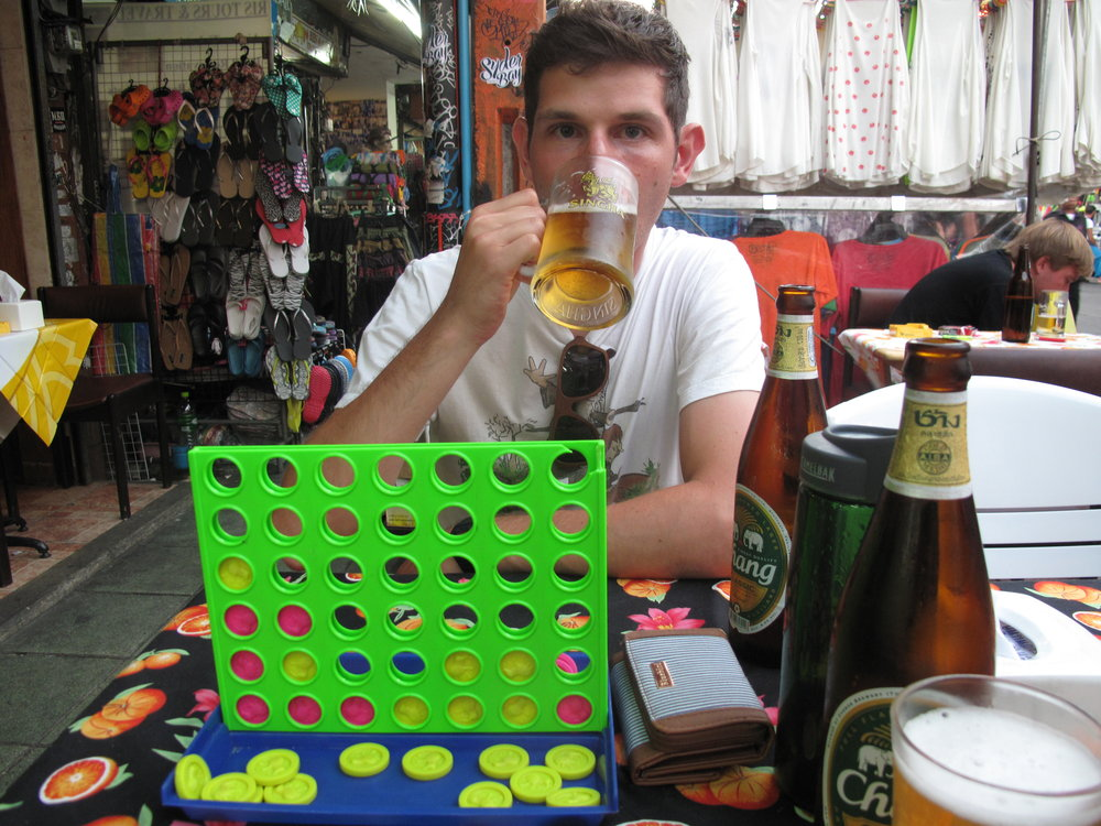 Connect 4, Khao San Rd, Bangkok
