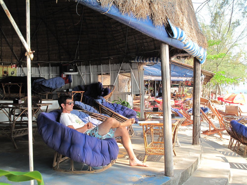 Beachside relaxation, Sihanoukville