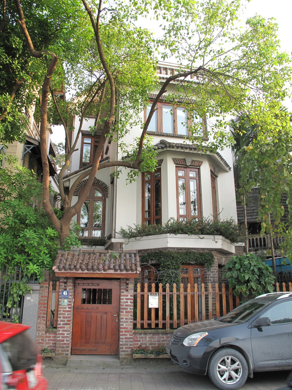 Brendan and Qiuyi's house, Hanoi