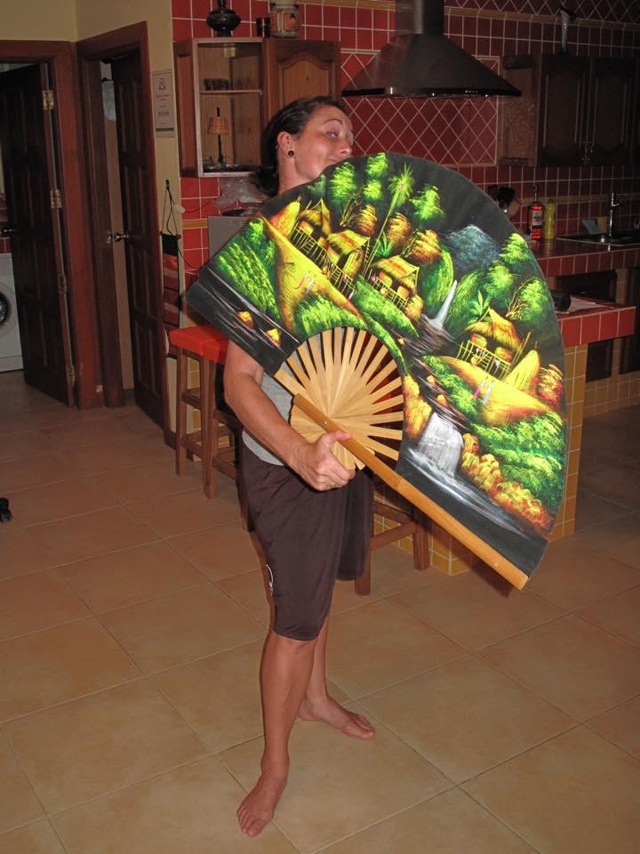 I'm a huge fan - geddit??