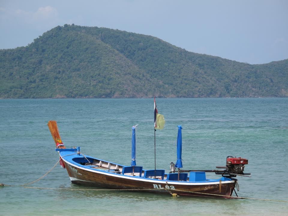 Longtail boat in Rawai Bay, Phuket