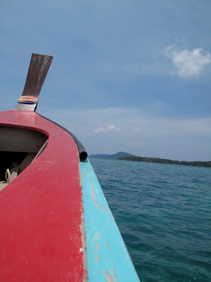 Cruising on the longtail, Phuket