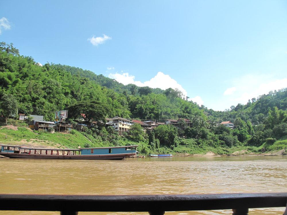 Boat, Laos, Thailand