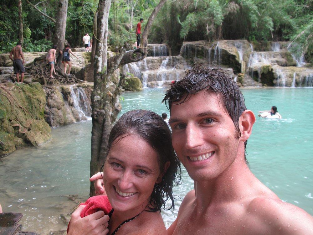 Luang Prabang, Laos, selfie, logistics, long term travel