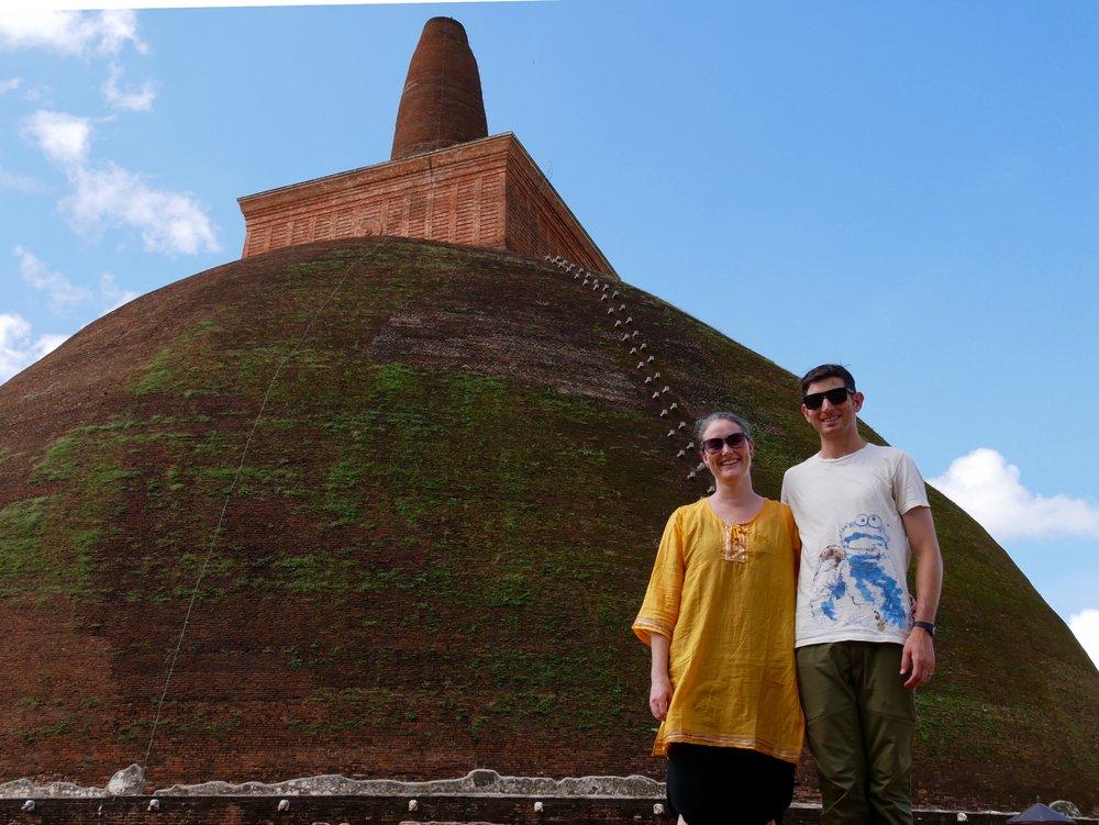 Jetvanarama Dagoba, Anuradhapura, Sri Lanka