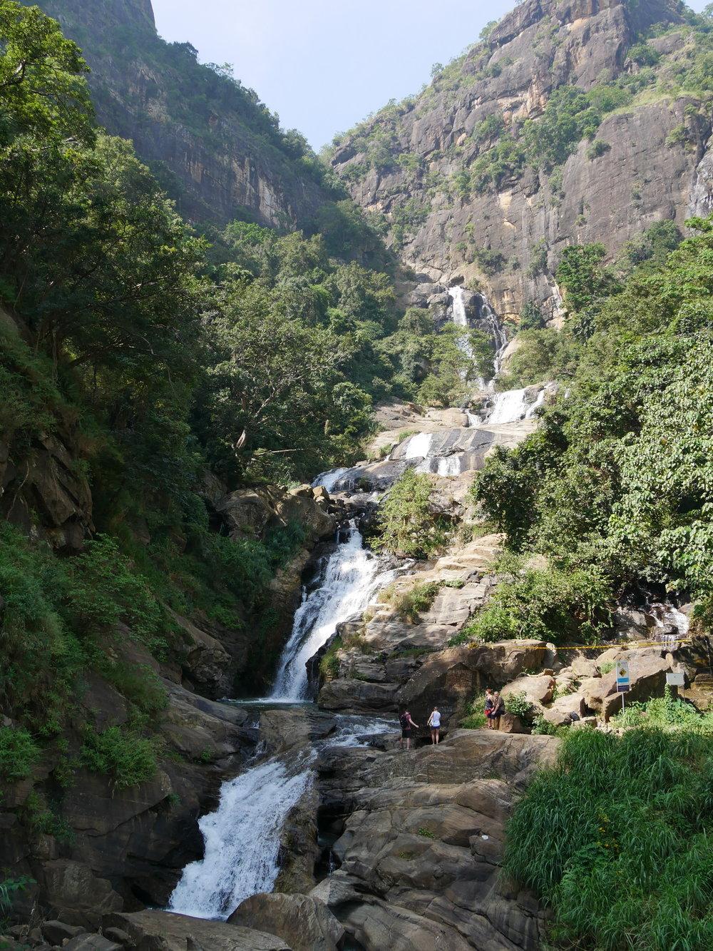 Ravana Falls, Ella, Sri Lanka