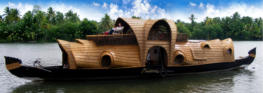 Disclaimer: not our actual houseboat
