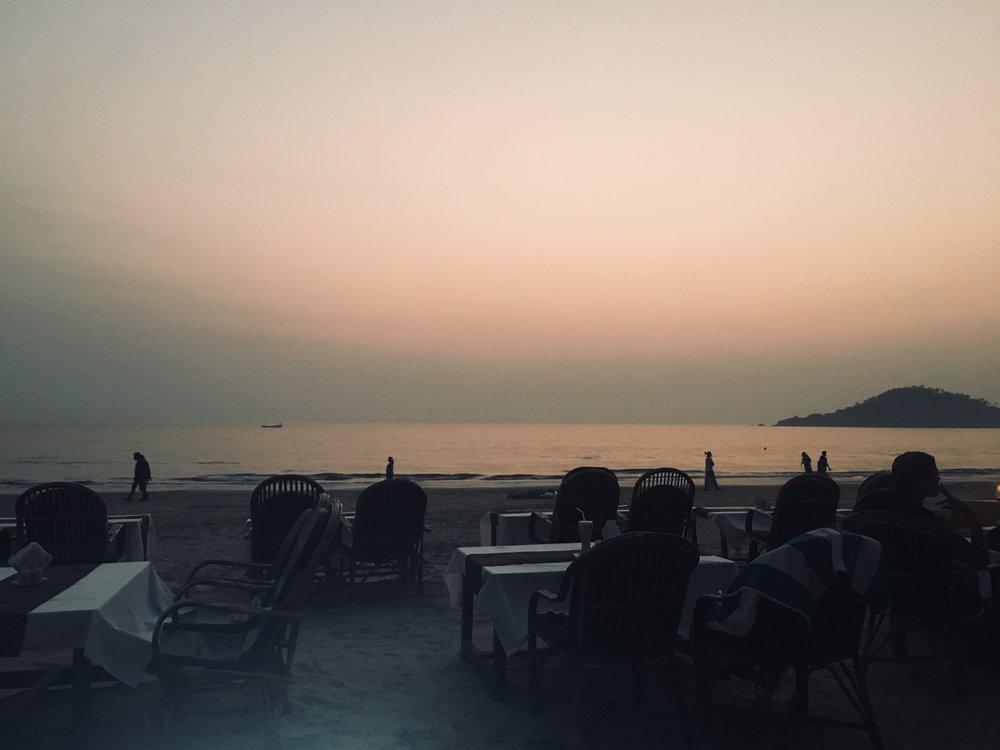 Classic Goan sunset