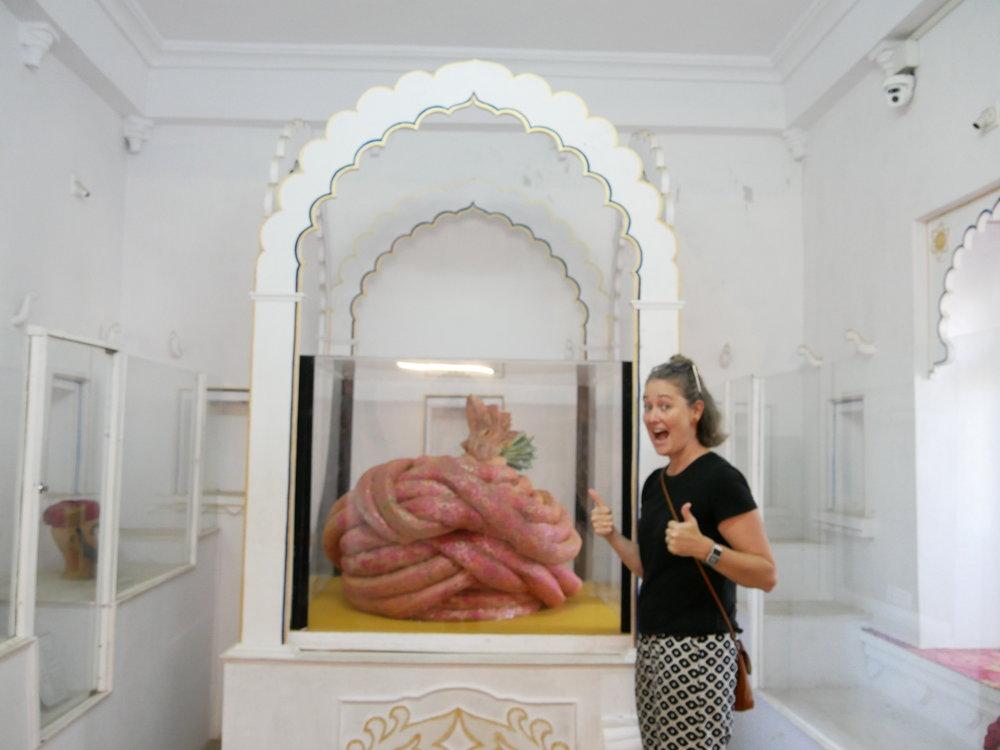 The world's largest turban!!!