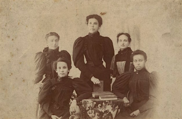 """Five Women"", 1890. Schomburg Center for Research in Black Culture Photographs and Prints Division"