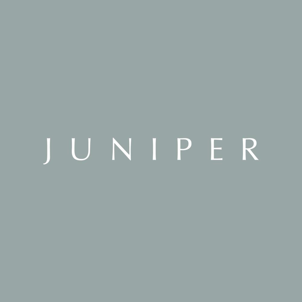 JUNIPER  | Brand Identity, Collateral + Website Design