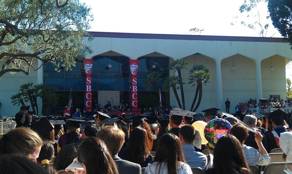 Photo by Juan Zepeda @ SBCC Graduation 2013