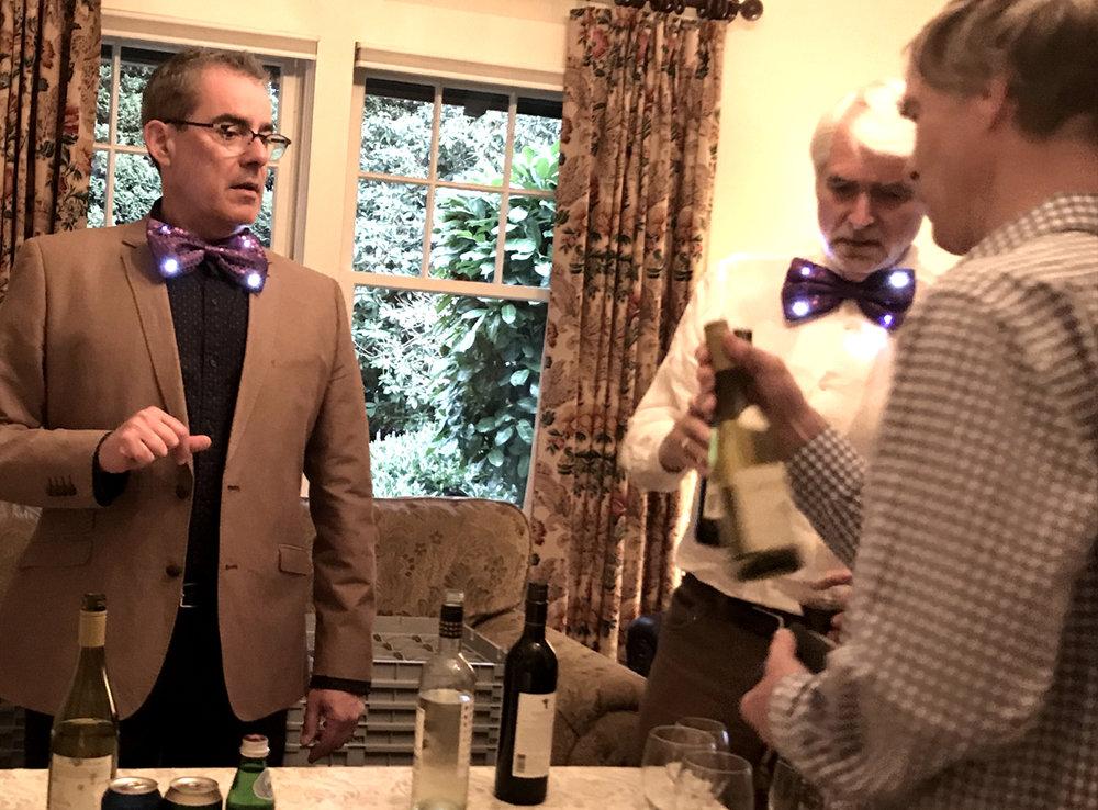 Bow Tie bartenders