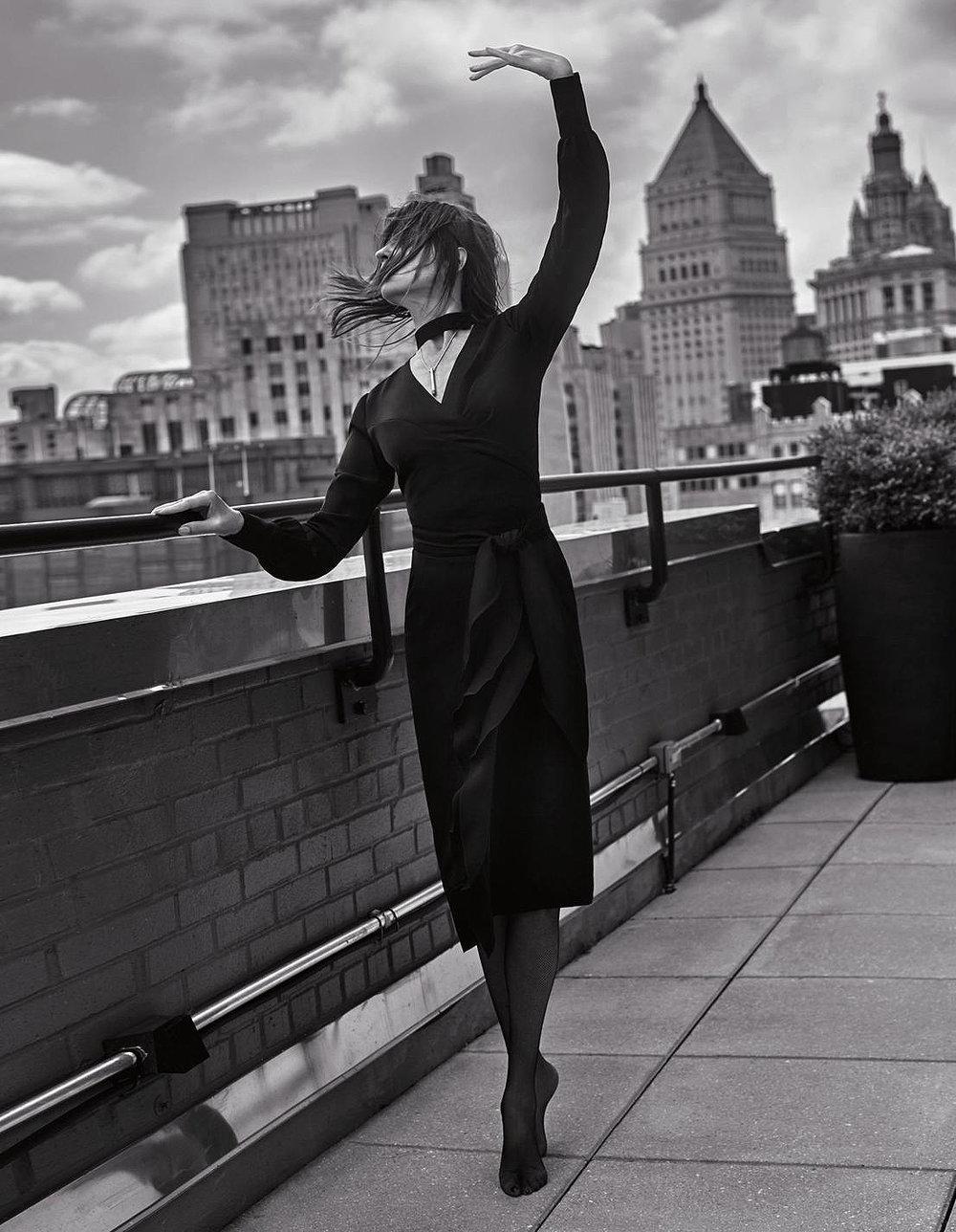 "SAPPHIRE COLLECTIVE Lit Pendant ""L'ALLURE CARINE ROITFELD"" Model: Carine Roitfeld Styled by: Carine Roitfeld Fashion Editor: Ben Perriera Photographed by: Sebastian Faena"