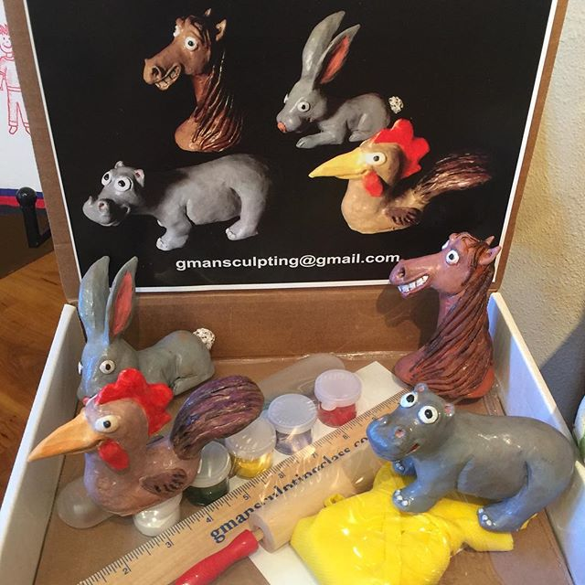 Check out my NEW sculpting class for kids. The kit would be an amazing Christmas gift for your kids/grandkids! https://youtu.be/bTCmyODWCdc Get the kit here: gmansculptingclass.com