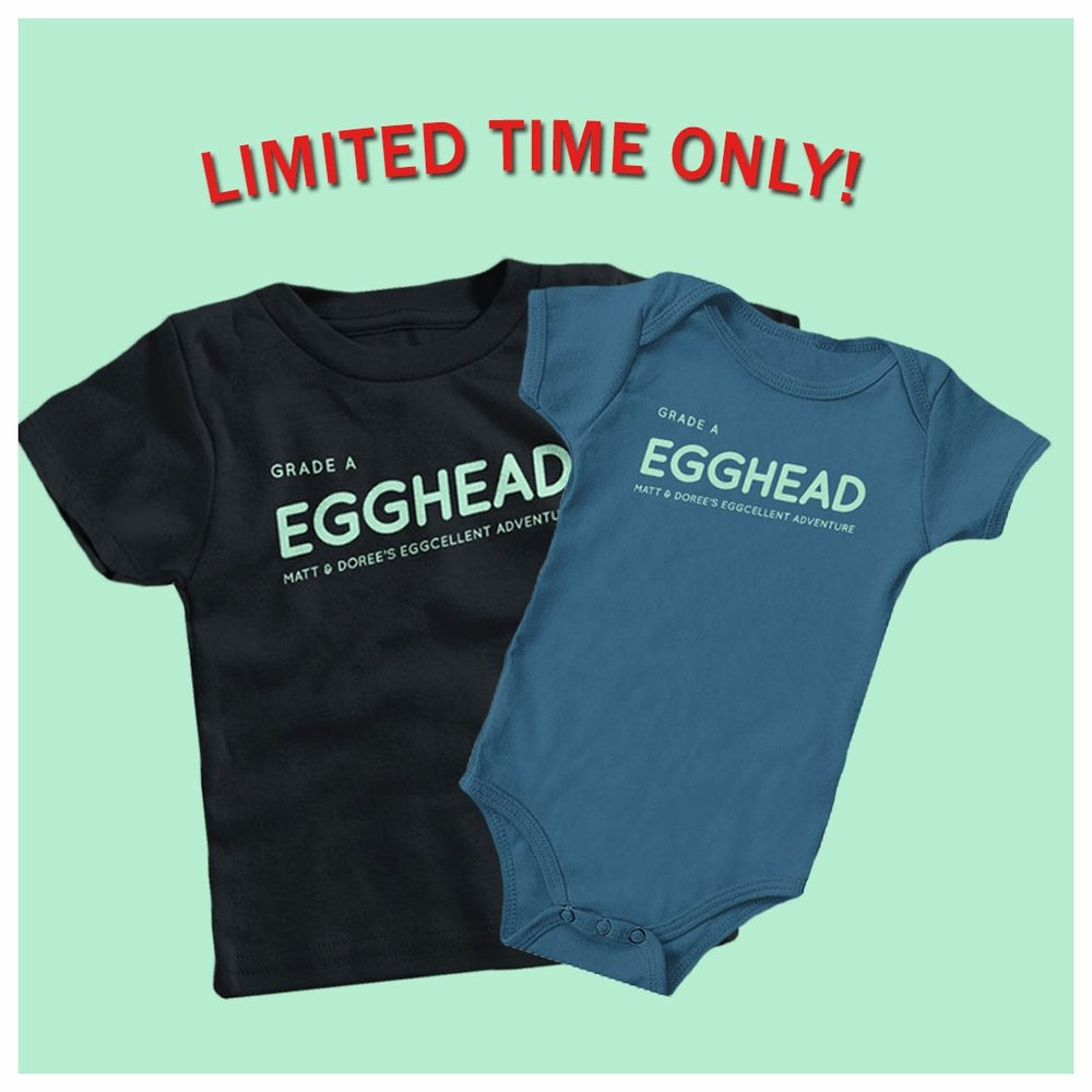 Egghead Tee (Child) - Available only until October 12th at 8pm ET!