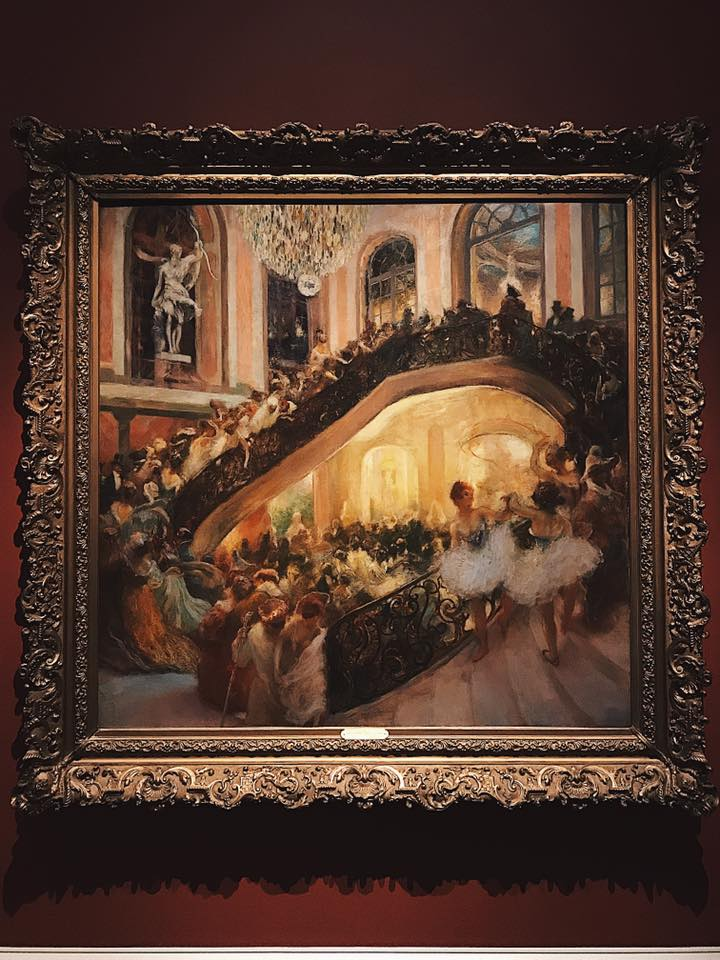 """The Masquerade Ball-Grand Opera House"" by Gaston La Touche"