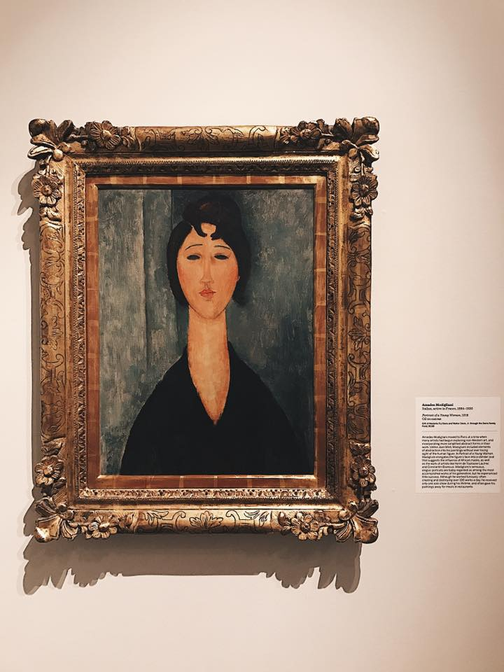 """Portrait of a Young Woman"" by Amedeo Modigliani"