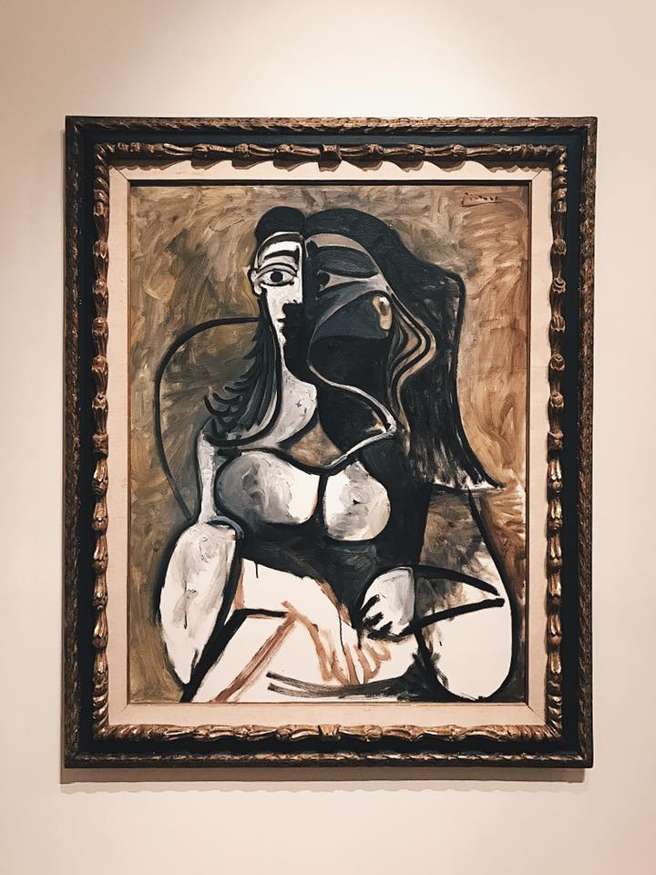 """Woman in an Armchair"" by Pablo Picasso"