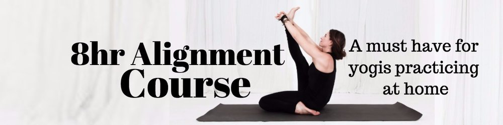 Align, 8hr yoga alignment course with Lesley Fightmaster