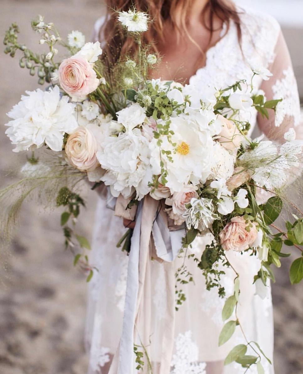 Photo by  Irina Turkova , Bouquet by  Walnut & Main . RIBBON USED: 3 yards of 2.5 inch