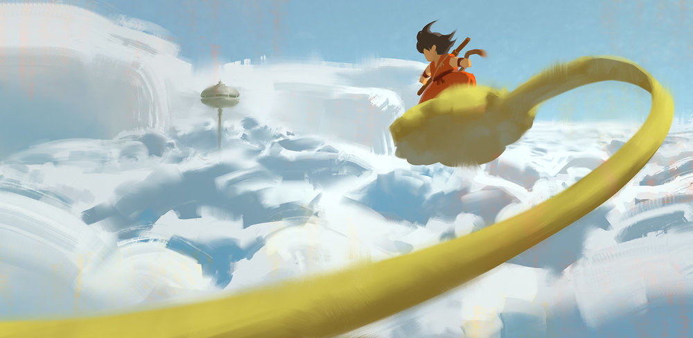 Flying Nimbus Sketch