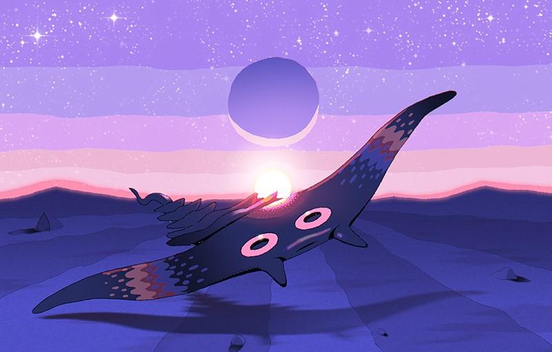 Life in a Twilight Desert