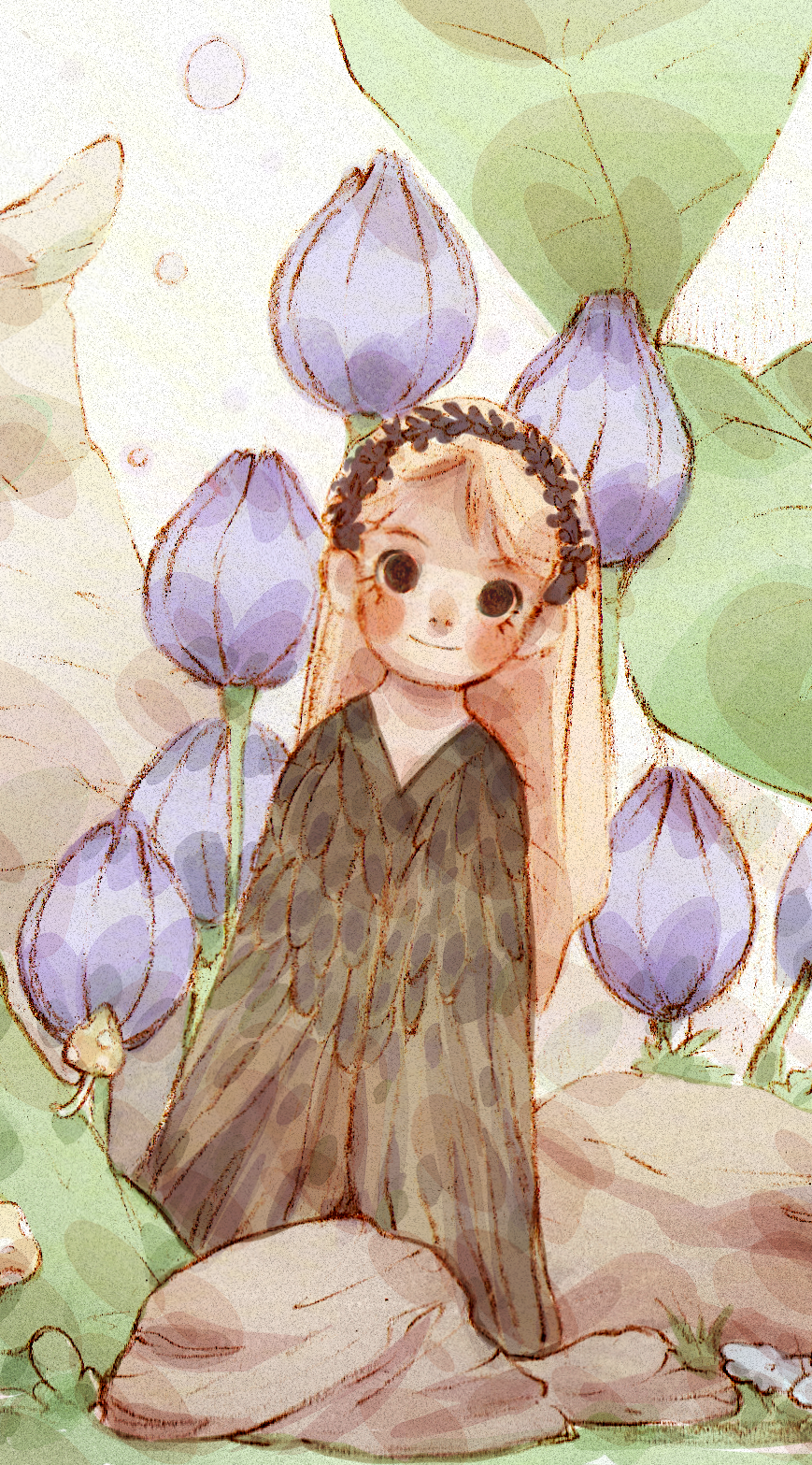 Little Girl in the Forrest