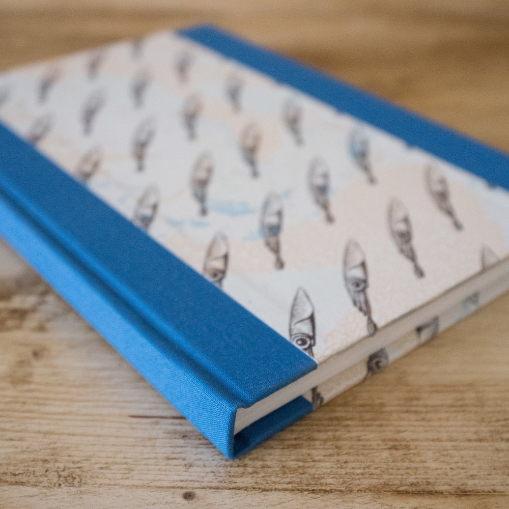 A5 Hand Bound Notebooks