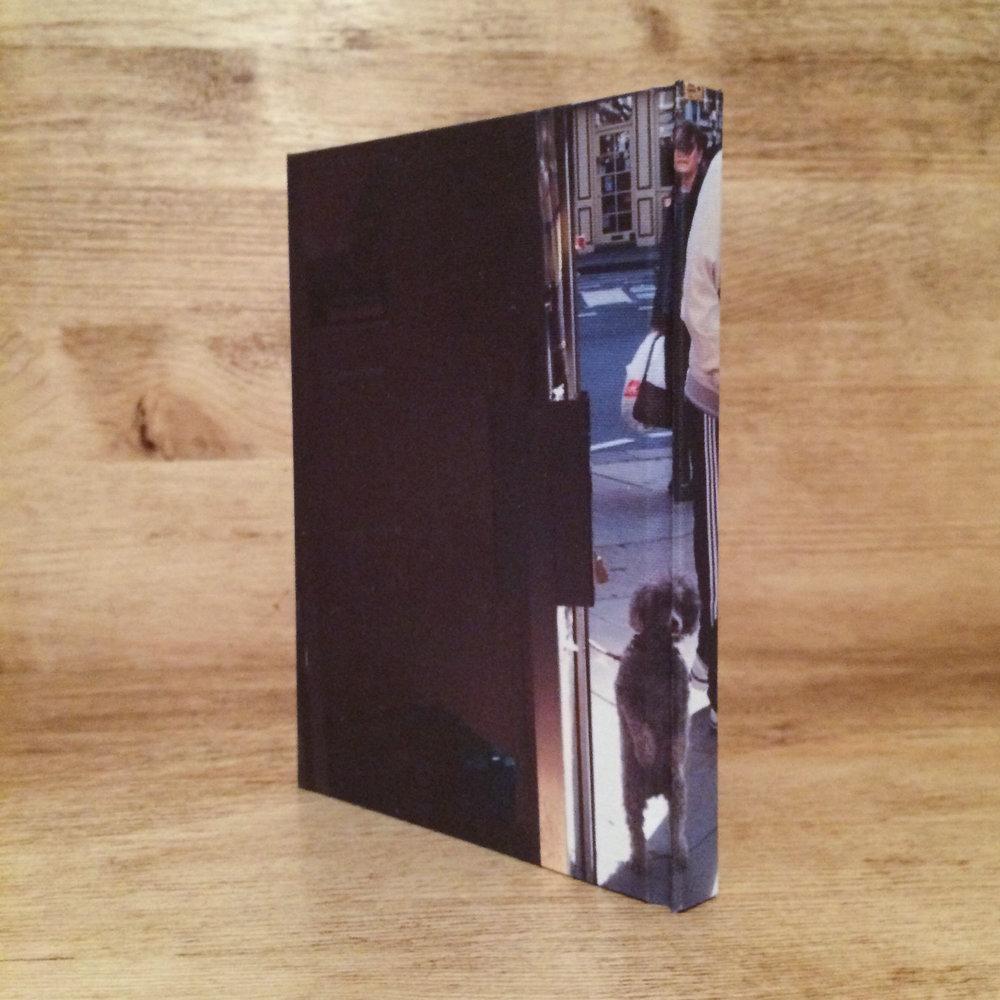 dog print notebook