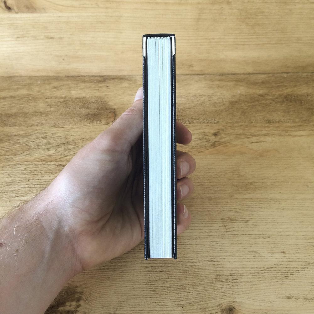 sewn boards binding photobook