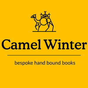 Camel Winter Hand Bound Books
