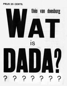 WatisDadaPoster