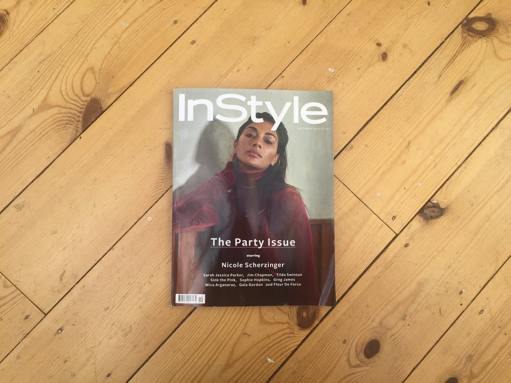 The last every print edition of Instyle UK.