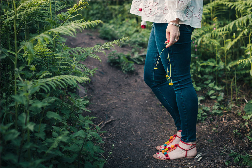 Snapdragon sandals by  Boden , available now.