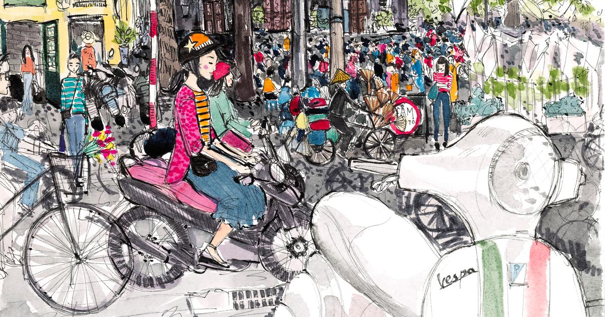 A POSTCARD FROM - Hanoi, Vietnam