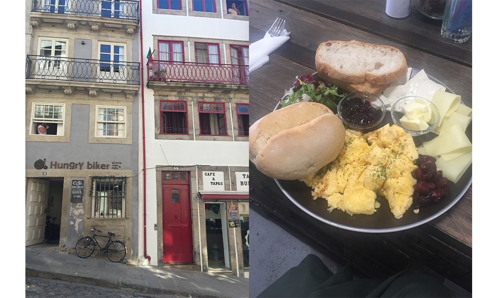 The Hungry Biker Cafe, Porto