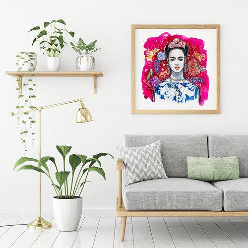 Frida Kahlo Print — Miss Magpie Fashion Spy