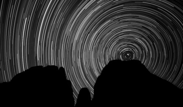 Awesome star-trails photo taken by Duanne of Cassone photography