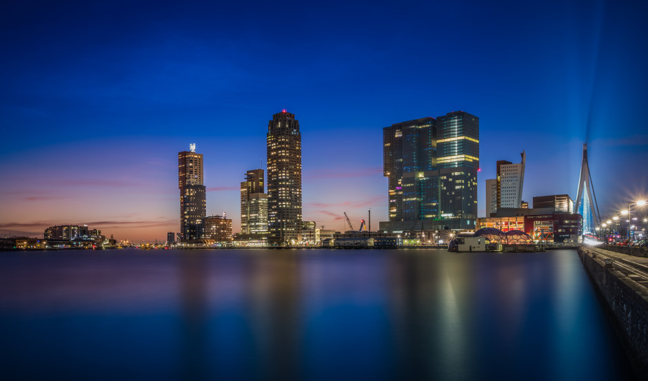 Fancy trying out some water smoothing? Brian van Daal's image Rotterdam At Night is a beautiful example.