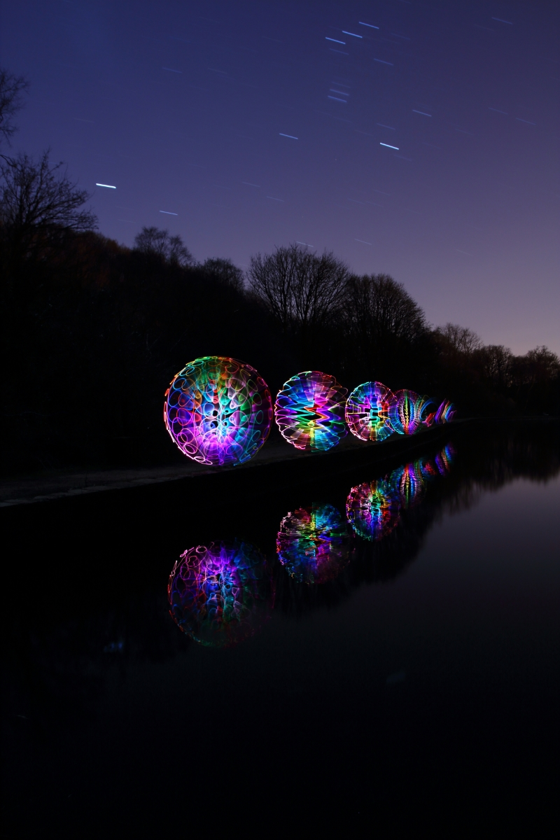 Etherow Orbs by Tim Gamble