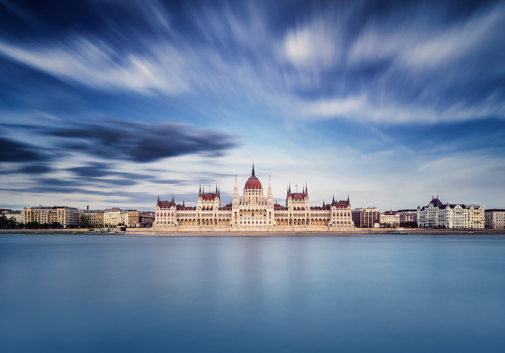 Long exposure of the Budapest Parliament building taken byThomas D Mørkeberg using Triggertrap Mobile.